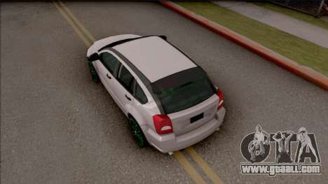 Dodge Caliber for GTA San Andreas back view