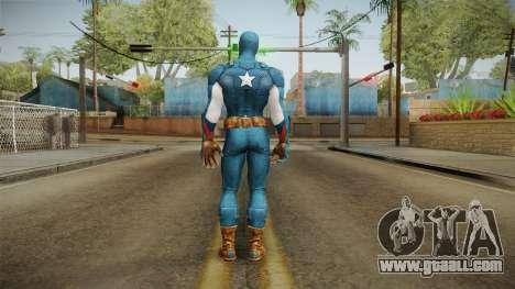 Marvel Heroes - Captain America for GTA San Andreas third screenshot