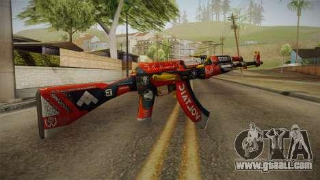 CS: GO AK-47 Bloodsport Skin for GTA San Andreas second screenshot