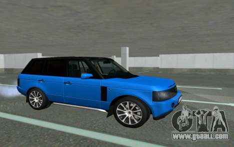 Land Rover Vogue for GTA San Andreas left view
