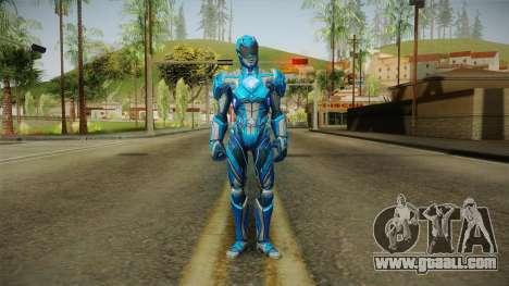 Blue Ranger Skin for GTA San Andreas second screenshot