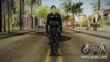 Turkish Riot Police Officer - Long Sleeves for GTA San Andreas second screenshot