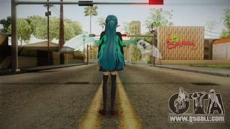 Asuna Yuuki School Uniform v4 for GTA San Andreas third screenshot