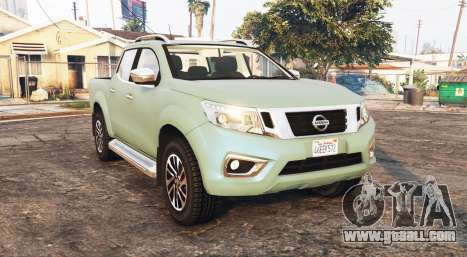 Nissan Frontier (D23) 2017 [replace] for GTA 5