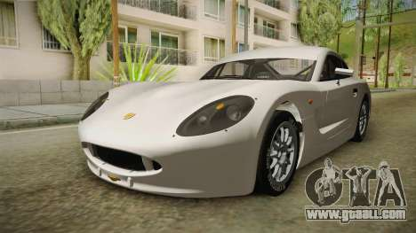 Ginetta G40 for GTA San Andreas right view