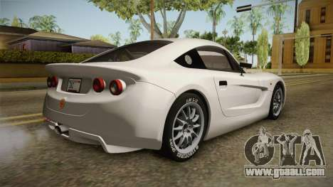 Ginetta G40 for GTA San Andreas left view