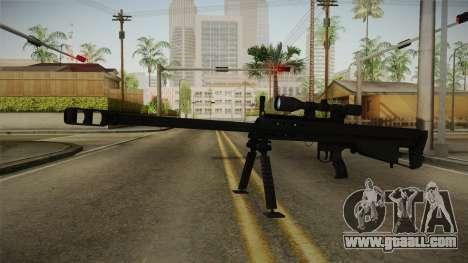 Mirror Edge Barrett M95 for GTA San Andreas