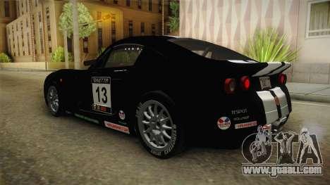 Ginetta G40 for GTA San Andreas wheels