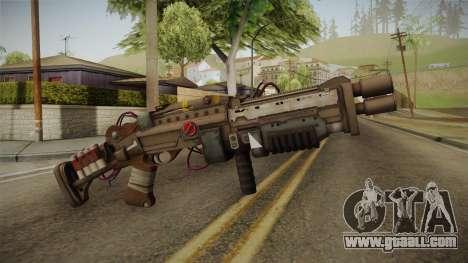 Joker Gun from Batman: Arkham Knight for GTA San Andreas