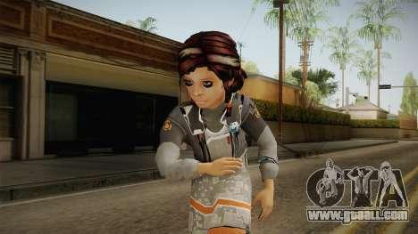 De Ninas Skin v1 for GTA San Andreas
