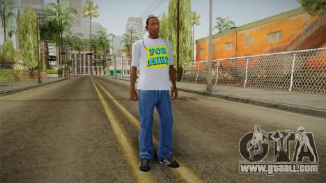GTA 5 Special T-Shirt v9 for GTA San Andreas third screenshot