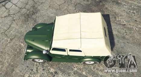 GTA 5 GAZ 69 [add-on] back view