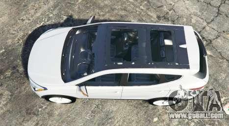 GTA 5 Hyundai Santa Fe (DM) 2013 [replace] back view