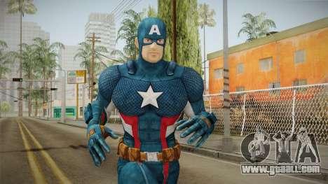 Marvel Heroes - Captain America for GTA San Andreas
