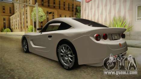 Ginetta G40 for GTA San Andreas back left view