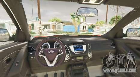 GTA 5 Hyundai Santa Fe (DM) 2013 [replace] rear right side view