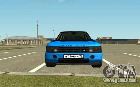 Land Rover Vogue for GTA San Andreas back left view