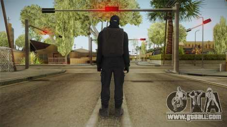 GTA Online: Black Army Skin v2 for GTA San Andreas third screenshot