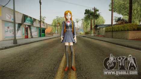 Asuna Yuuki School Uniform v3 for GTA San Andreas second screenshot