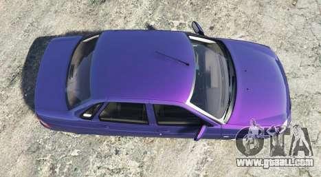 GTA 5 LADA Priora (2170) [replace] back view
