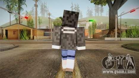 Minecraft Tokiasaki Kurumi Skin for GTA San Andreas third screenshot