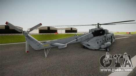 Mil Mi-171sh Croatian Air Force for GTA San Andreas left view