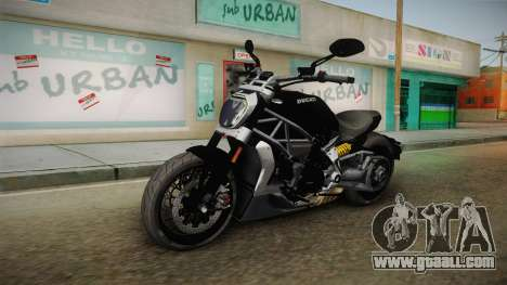 Ducati XDiavel S 2016 HQLM for GTA San Andreas