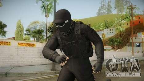 GTA Online: Black Army Skin v2 for GTA San Andreas