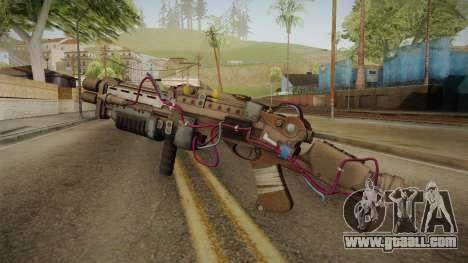 Joker Gun from Batman: Arkham Knight for GTA San Andreas second screenshot