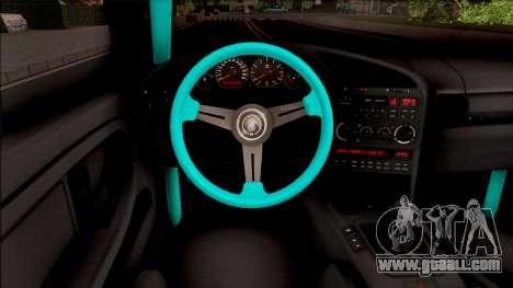 BMW M3 E36 Drift Rocket Bunny for GTA San Andreas inner view