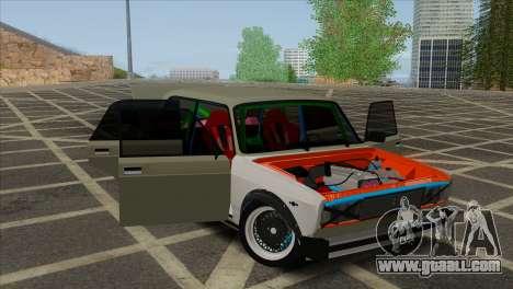 VAZ 2105 Combat Classics Customs for GTA San Andreas inner view