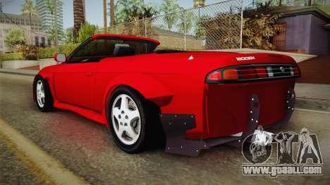 Nissan 200SX Cabrio Tuned for GTA San Andreas left view