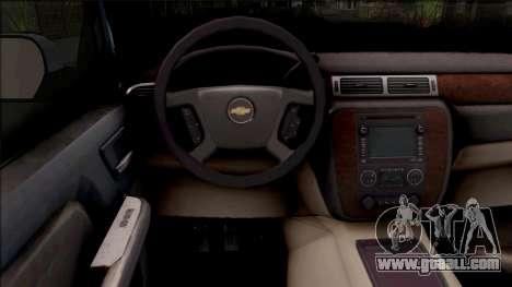 Chevrolet Silverado Single Cab for GTA San Andreas inner view