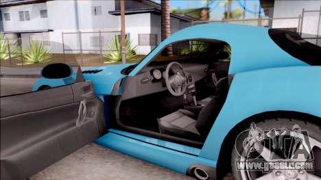 Dodge Viper SRT-10 for GTA San Andreas inner view