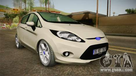 Ford Fiesta 1.4 TDCI for GTA San Andreas