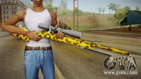 Leopard Sniper Rifle for GTA San Andreas