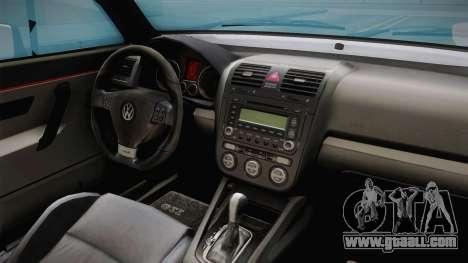 Volkswagen Golf MK2 2.0 TFSI Beta for GTA San Andreas inner view