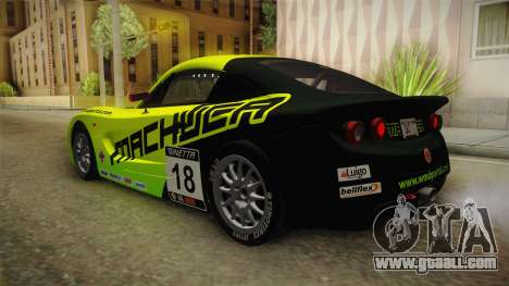Ginetta G40 for GTA San Andreas upper view