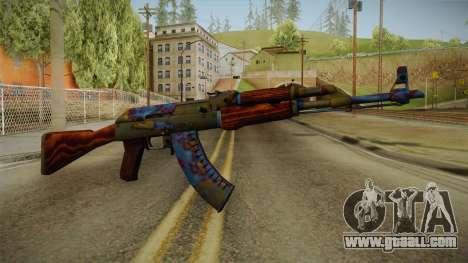 CS: GO AK-47 Case Hardened Skin for GTA San Andreas