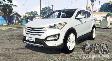 Hyundai Santa Fe (DM) 2013 [replace] for GTA 5