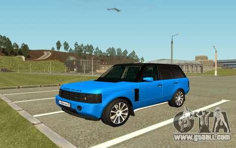 Land Rover Vogue for GTA San Andreas