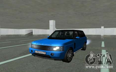 Land Rover Vogue for GTA San Andreas back view