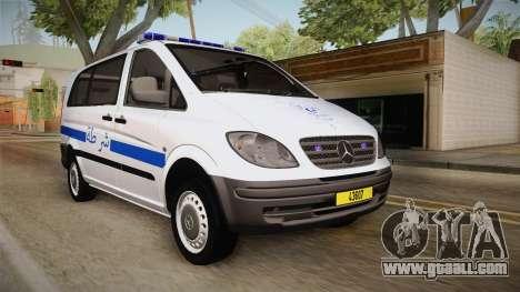 Mercedes-Benz Vito Algerian Police for GTA San Andreas