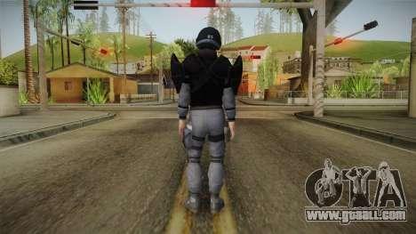Mirror Edge Cop Heavy v1 for GTA San Andreas third screenshot