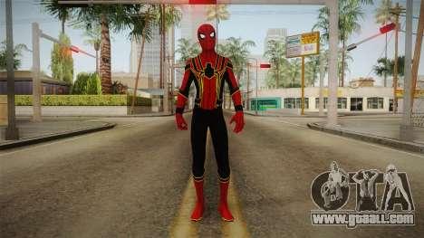 Spider-Man: Homecoming - Iron Spider for GTA San Andreas second screenshot