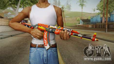 CS: GO AK-47 Bloodsport Skin for GTA San Andreas third screenshot