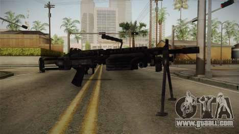 Mirror Edge FN Minimi for GTA San Andreas