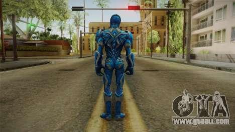 Blue Ranger Skin for GTA San Andreas third screenshot