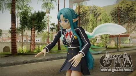 Asuna Yuuki School Uniform v4 for GTA San Andreas