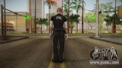Mirror Edge Cop Patrol v1 for GTA San Andreas third screenshot